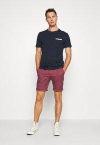 Pier One - Print T-shirt - dark blue - 1