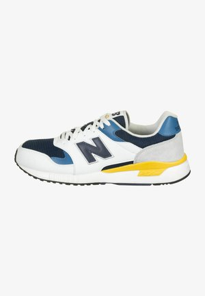 Sneakers - white/blue/yellow