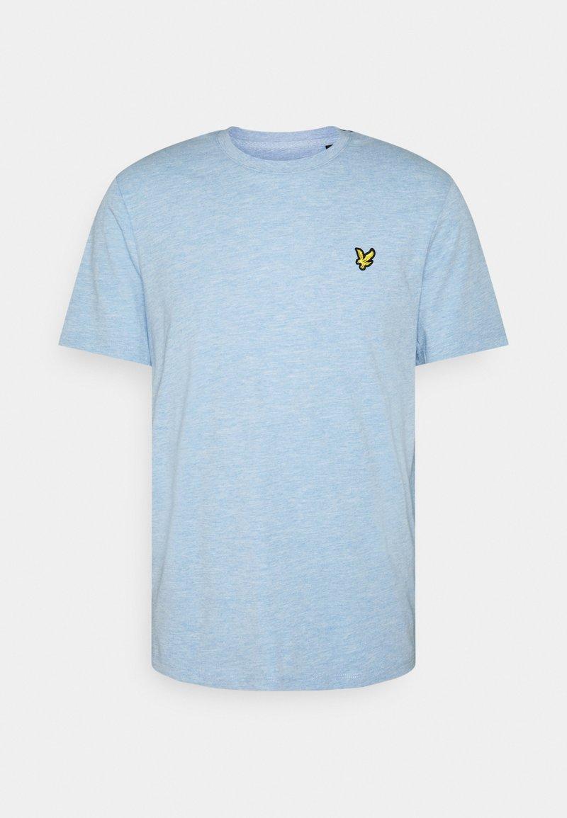 Lyle & Scott - T-shirt med print - fresh blue