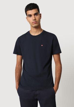 Basic T-shirt - blu marine