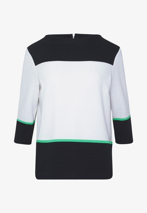 Sweatshirt - white knit