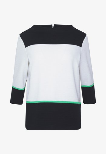 Sweatshirt - white knit