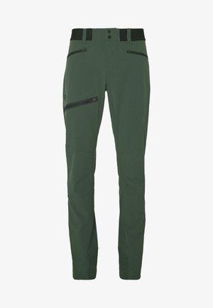 LIGHT SOFTSHELL PANTS - Outdoorové kalhoty - drift green