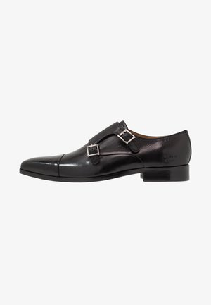 LANCE - Smart slip-ons - black