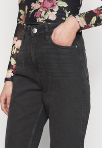 River Island Tall - Jeans a sigaretta - washed black - 4