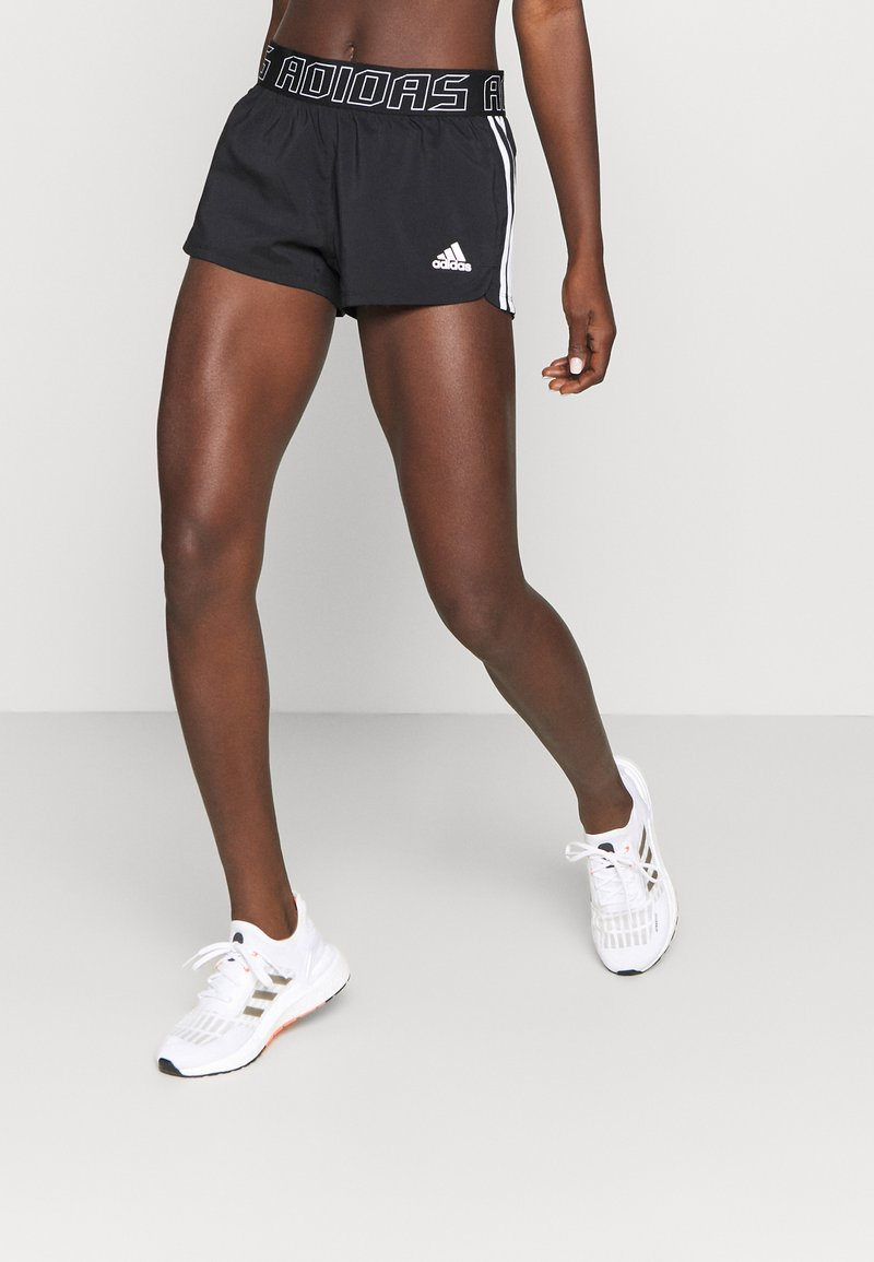 adidas Performance - PACER - Short de sport - black/white