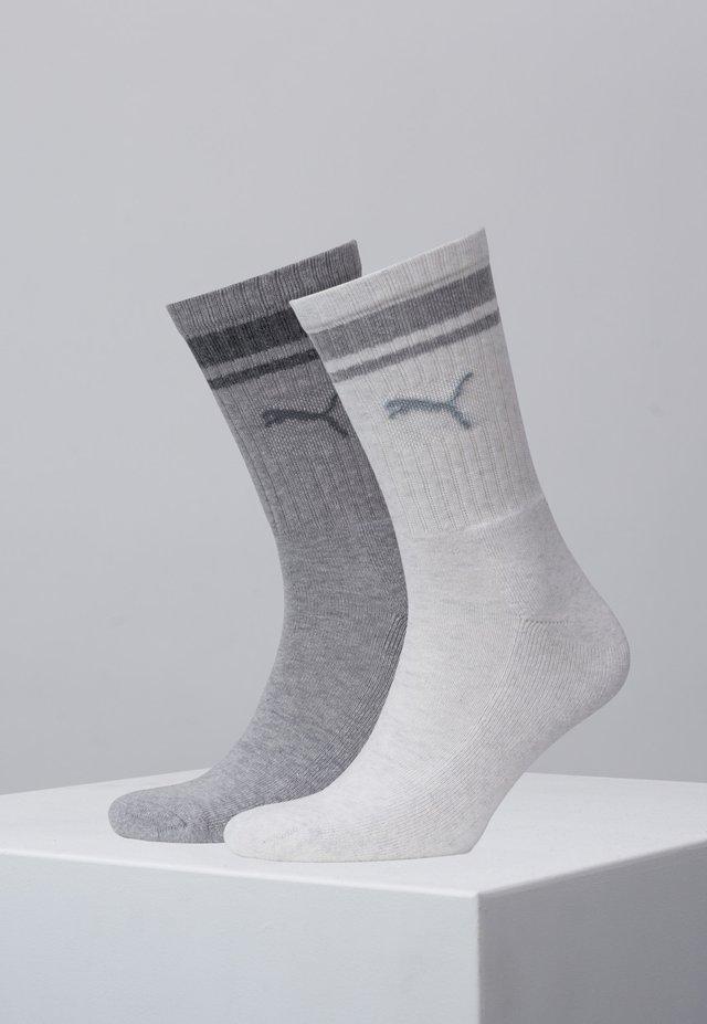 2 PACK - Socks - light grey melange
