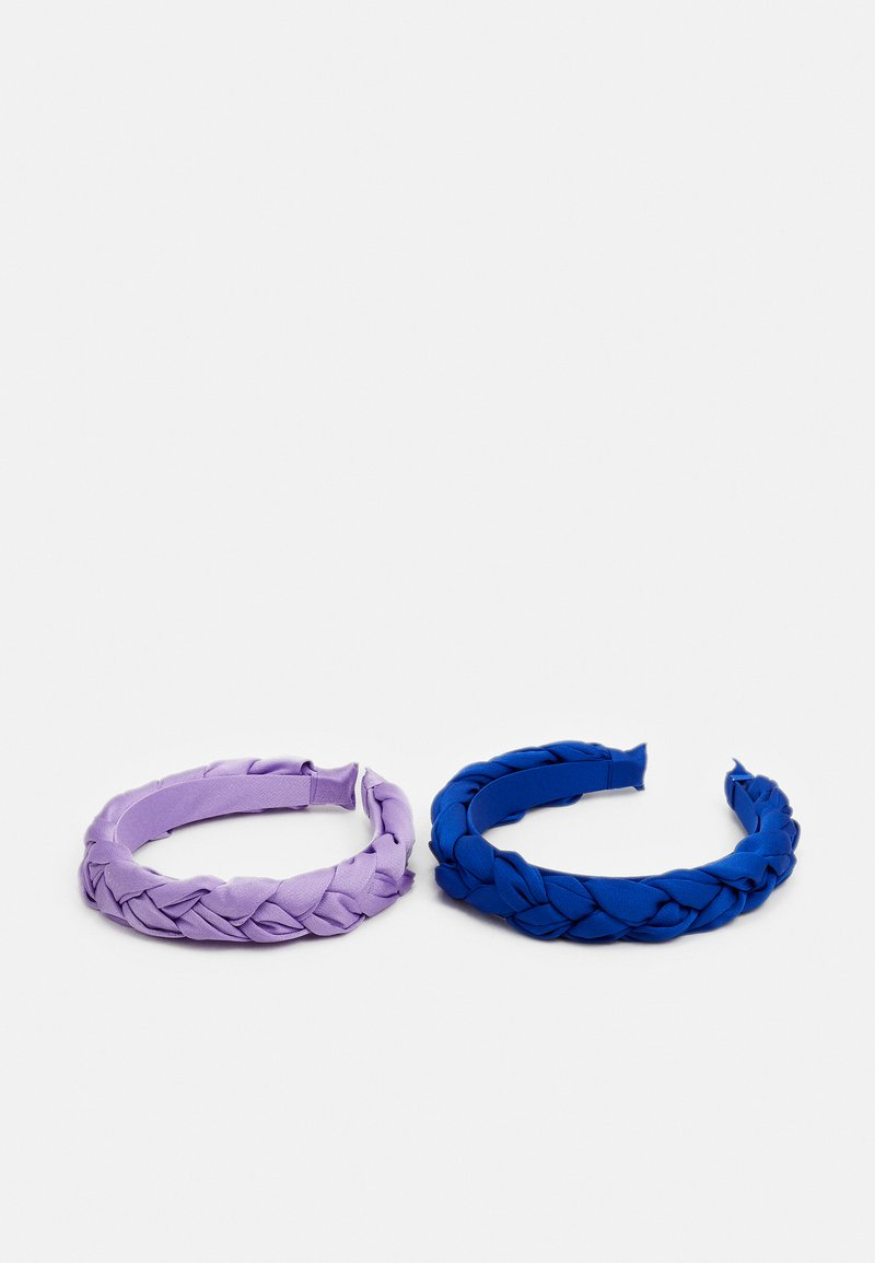 ONLY - ONLALBA BRAIDED HAIRBAND 2 PACK - Hair styling accessory - orchid bloom/night sky