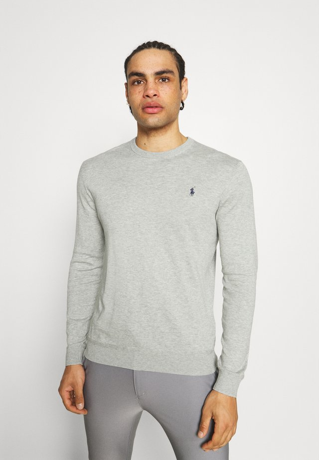 LONG SLEEVE - Svetr - light grey heather