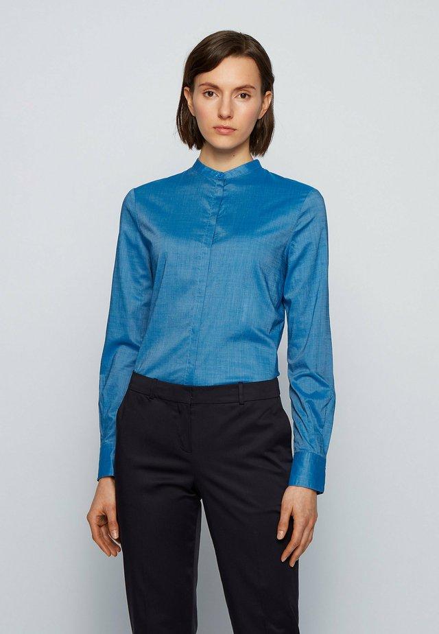 C_BEFELIZE - Skjortebluser - open blue