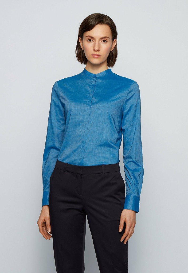 BOSS - BEFELIZE - Blouse - open blue