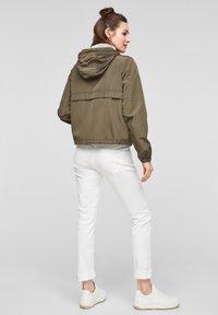Q/S designed by - Summer jacket - olive - 2