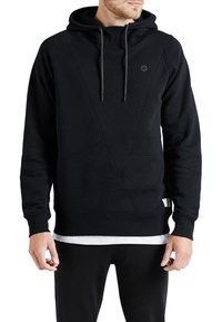 Jack & Jones - JCOPINN HOOD REGULAR FIT - Sweat à capuche - black - 0