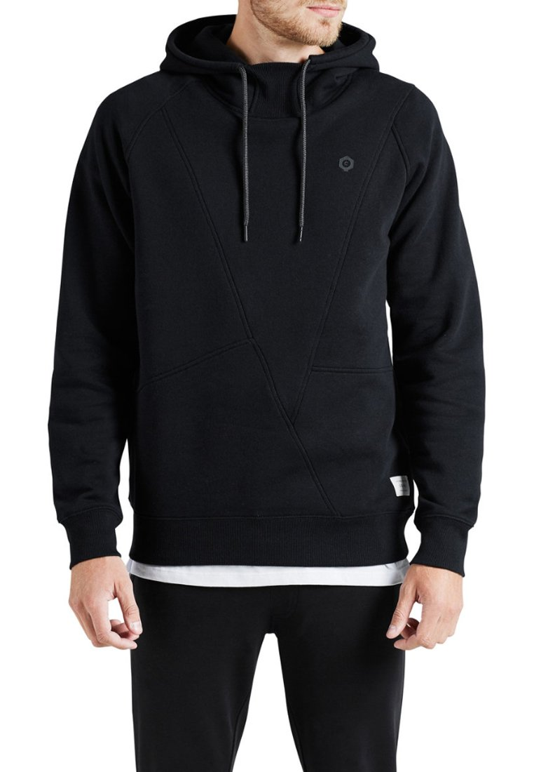 Jack & Jones - JCOPINN HOOD REGULAR FIT - Sweat à capuche - black