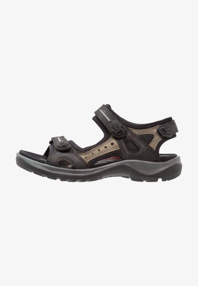 OFFROAD - Sandales de randonnée - black