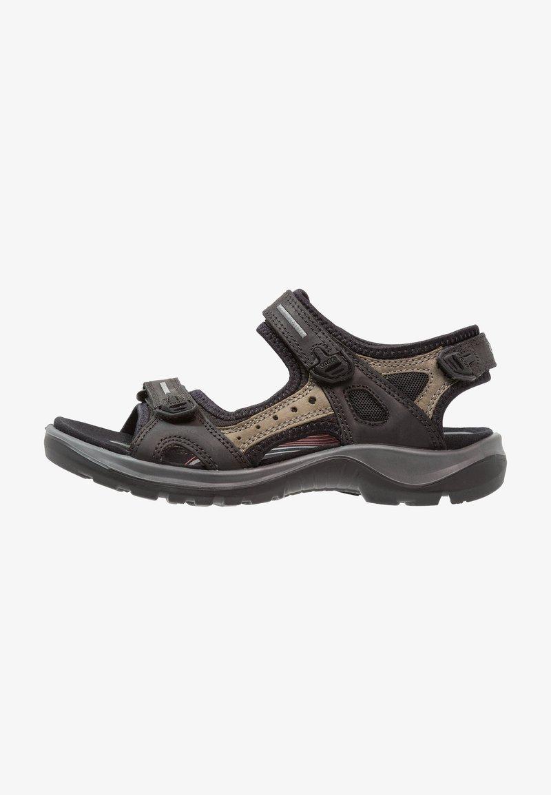ECCO - OFFROAD - Chodecké sandály - black