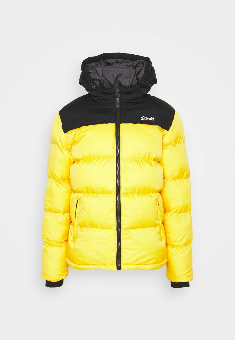 Schott - UTAH2 UNISEX - Winter jacket - yellow