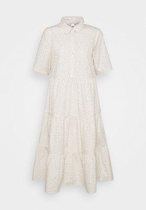 Vestido camisero - white light