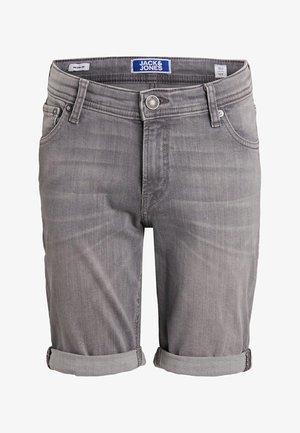 Shorts - grey denim