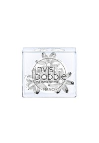 Invisibobble - NANO HAARGUMMI 2 PACK - Hair styling accessory - crystal clear - 1