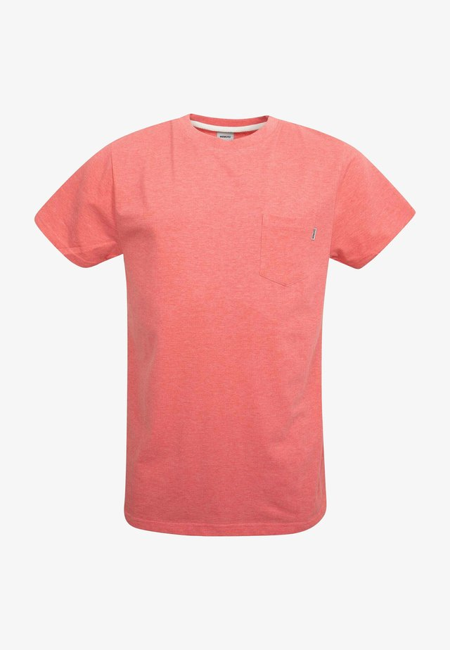 T-shirt basique - red melange
