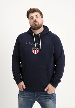 PLUS SHIELD HOODIE - Hoodie - evening blue