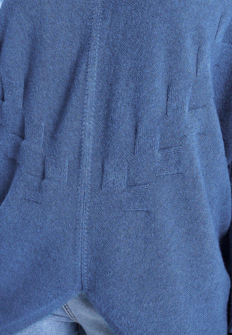 Apart Strickpullover - jeansblau/blaugrau xGi5iq