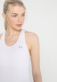 Under Armour - RACER TANK - Funktionsshirt - white - 3