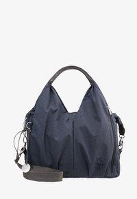 Lässig - NECKLINE BAG SPIN DYE - Borsa fasciatoio - blue mélange - 1