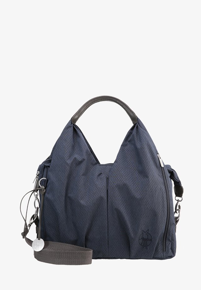 NECKLINE BAG SPIN DYE - Baby changing bag - blue mélange