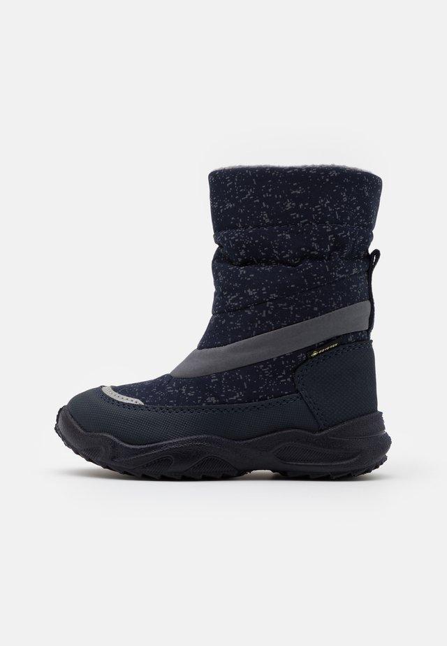 GLACIER - Zimní obuv - blau/grau