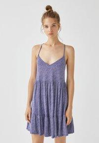 PULL&BEAR - Sukienka letnia - light blue - 0