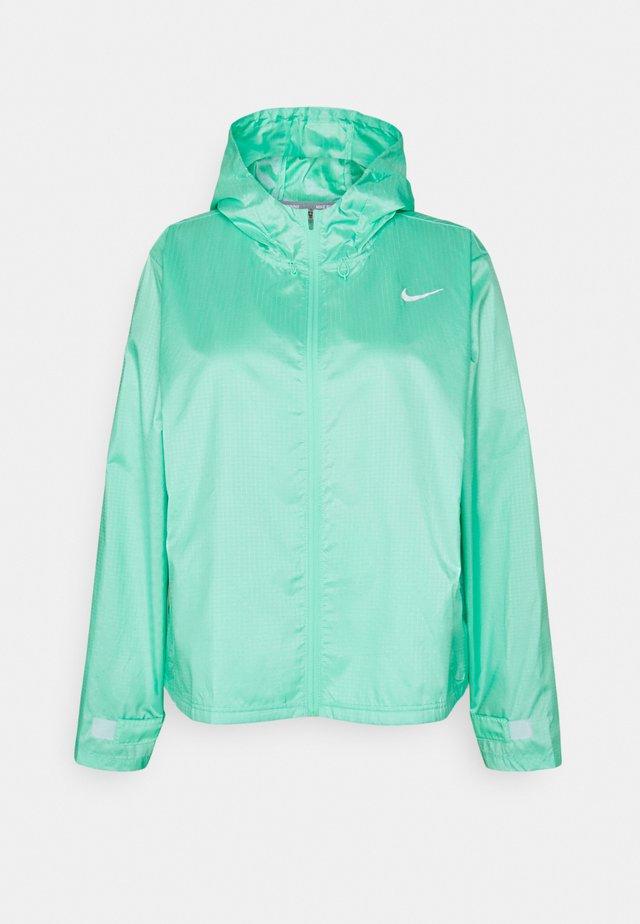 ESSENTIAL JACKET PLUS - Sports jacket - green glow/reflective silver
