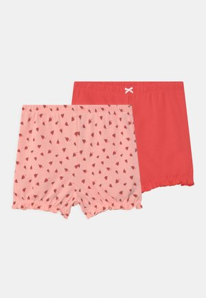 2 PACK - Shorts - light pink/red