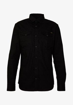 JJESHERIDAN SLIM - Camisa - black