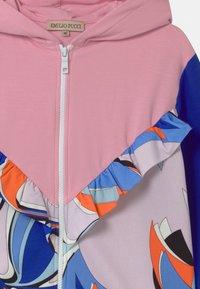 Emilio Pucci - Zip-up sweatshirt - light pink - 2