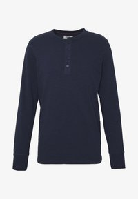 GRANDDAD - Long sleeved top - navy blazer