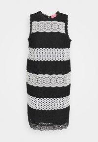 kate spade new york - FLORAL DOT SHIFT DRESS - Denní šaty - black - 0