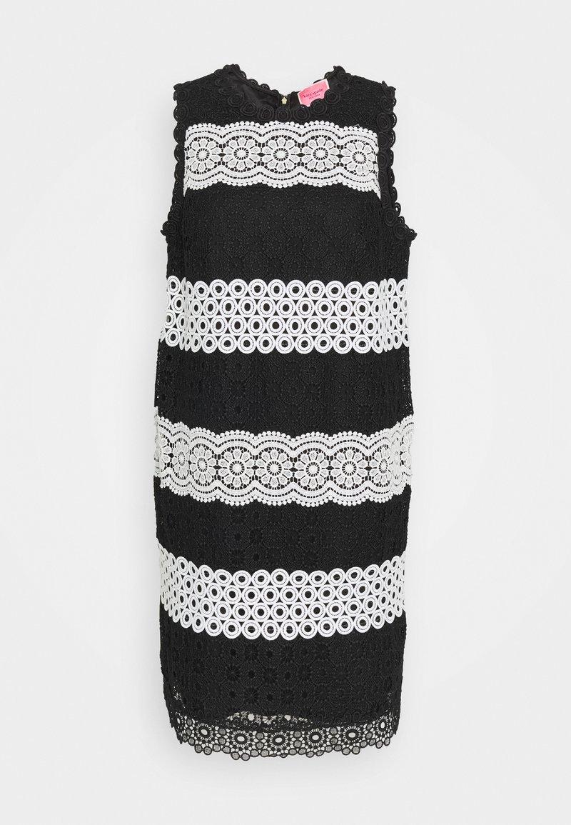 kate spade new york - FLORAL DOT SHIFT DRESS - Denní šaty - black