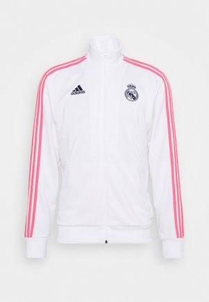 REAL MADRID SPORTS FOOTBALL TRACK - Klubbkläder - white/dark blue