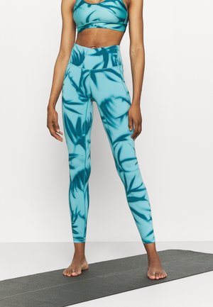 MERIDIAN PRINTED - Leggings - legion blue