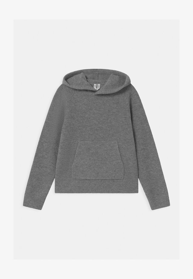 Hoodie - grey dusty light