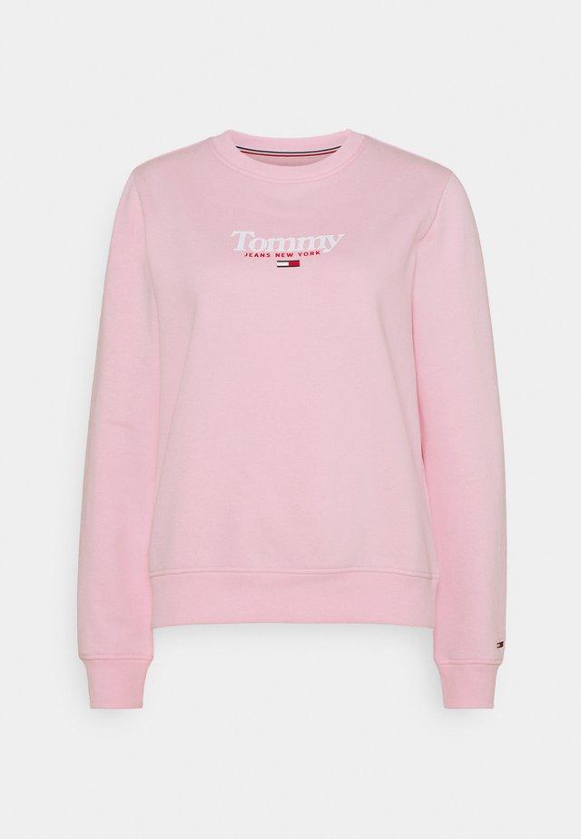 ESSENTIAL LOGO CREW - Collegepaita - romantic pink