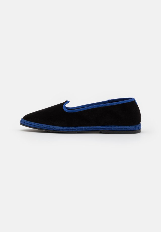FURLANES - Hjemmesko - black/blue