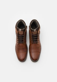 Pier One - Lace-up ankle boots - cognac