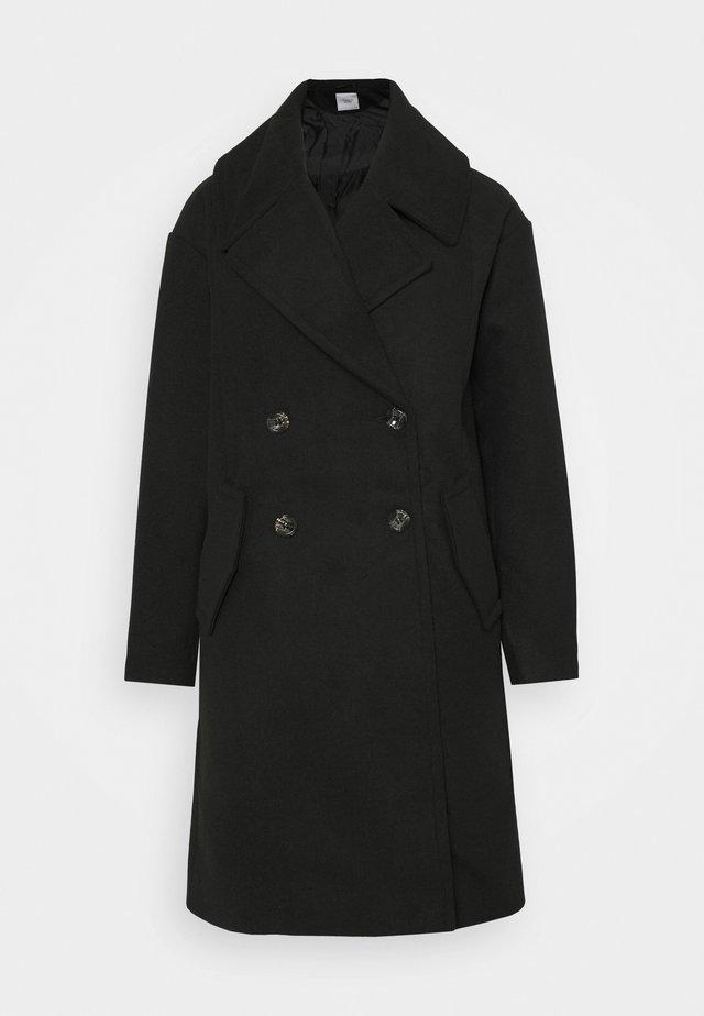 JDYSTORM BIG COLLAR JACKET  - Classic coat - black