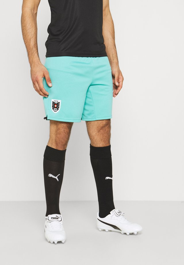 ÖSTERREICH ÖFB AWAY SHORTS REPLICA - Sports shorts - black