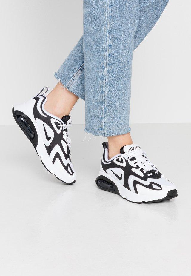 AIR MAX 200 - Sneakersy niskie - white/black/anthracite