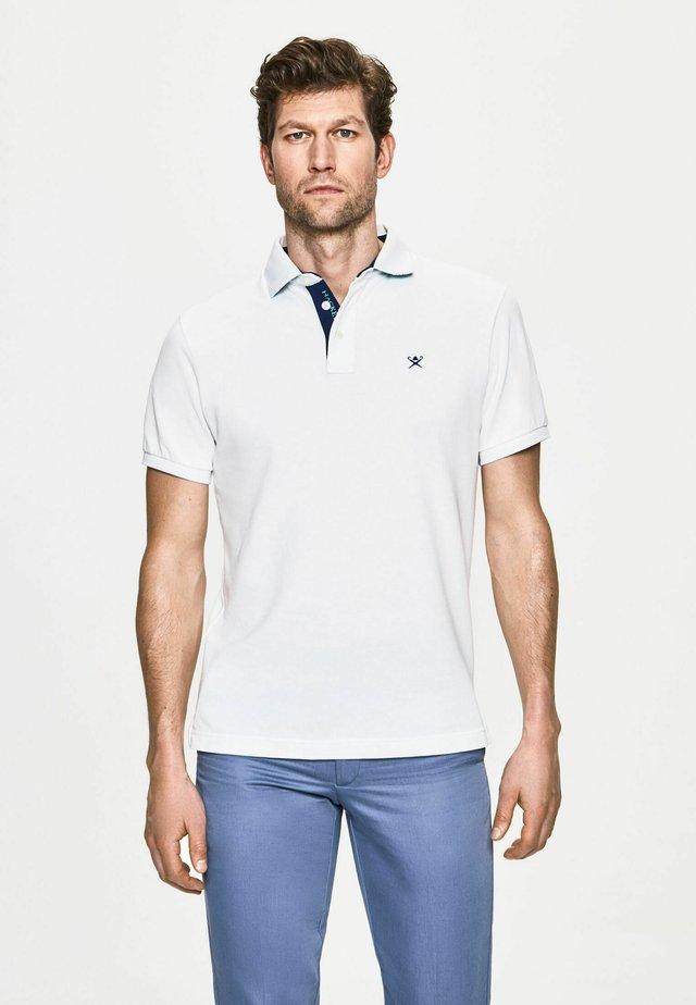 PALM SWIM TRIM - Polo shirt - white
