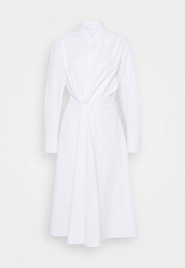 SOPHIE - Shirt dress - white